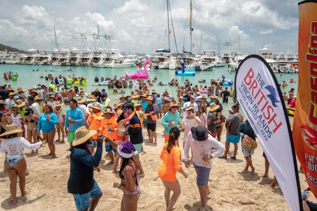 Christmas In July 2019 Virgin Gorda.Puerto Rican Navy Gets A Big Thank You At Christmas In