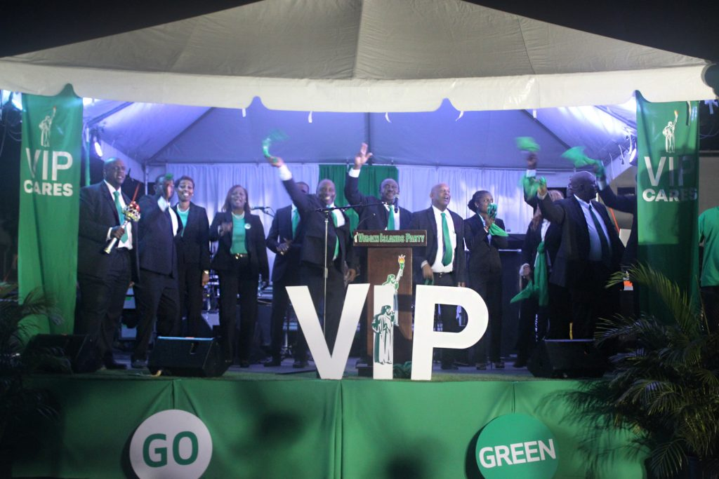 Virgin Islands Party held launches this week.