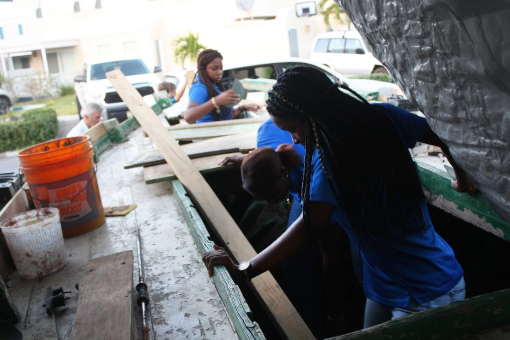 Three young women are restoring historical sloops - a cause supported by the newly launched Virgin Islands Sloop Foundation.