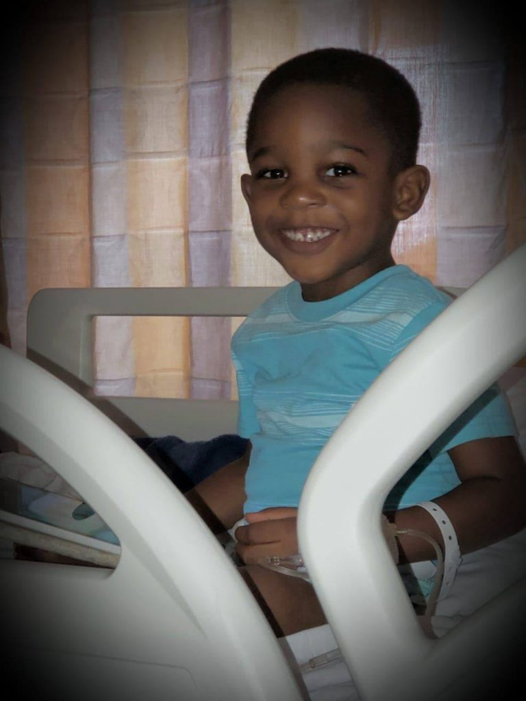 Four year-old Jahdiel Watson is undergoing cancer treatment in Miami while his grandmother raises funds for his treatment.
