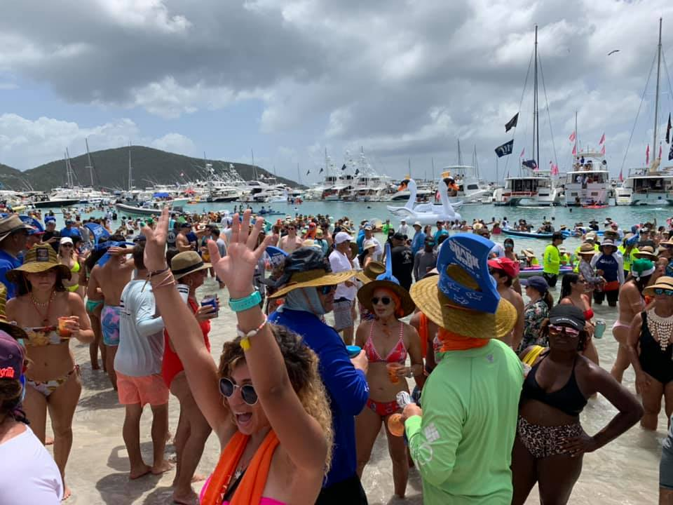 Christmas In July 2019 Bvi.Puerto Ricans Take Over For Christmas In July Bvi Beacon