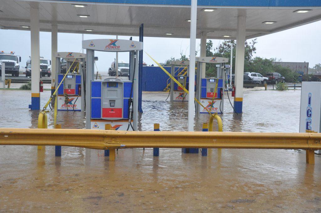 Dorian delta flooding