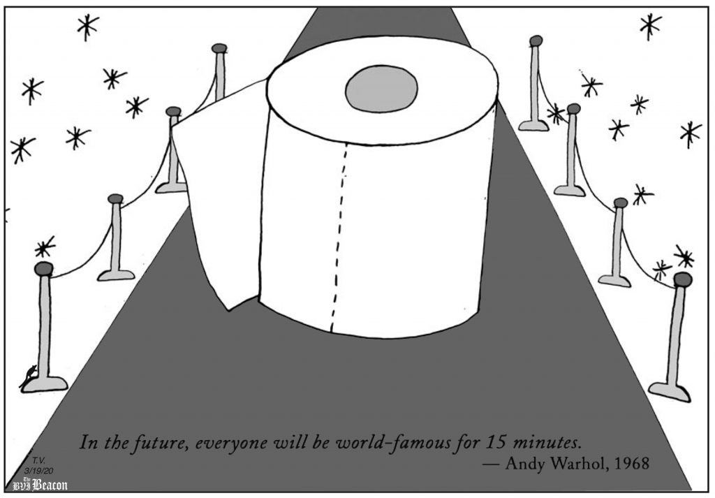 Cartoon (March 19, 2020)