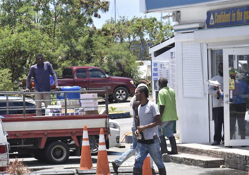 Delta gas station