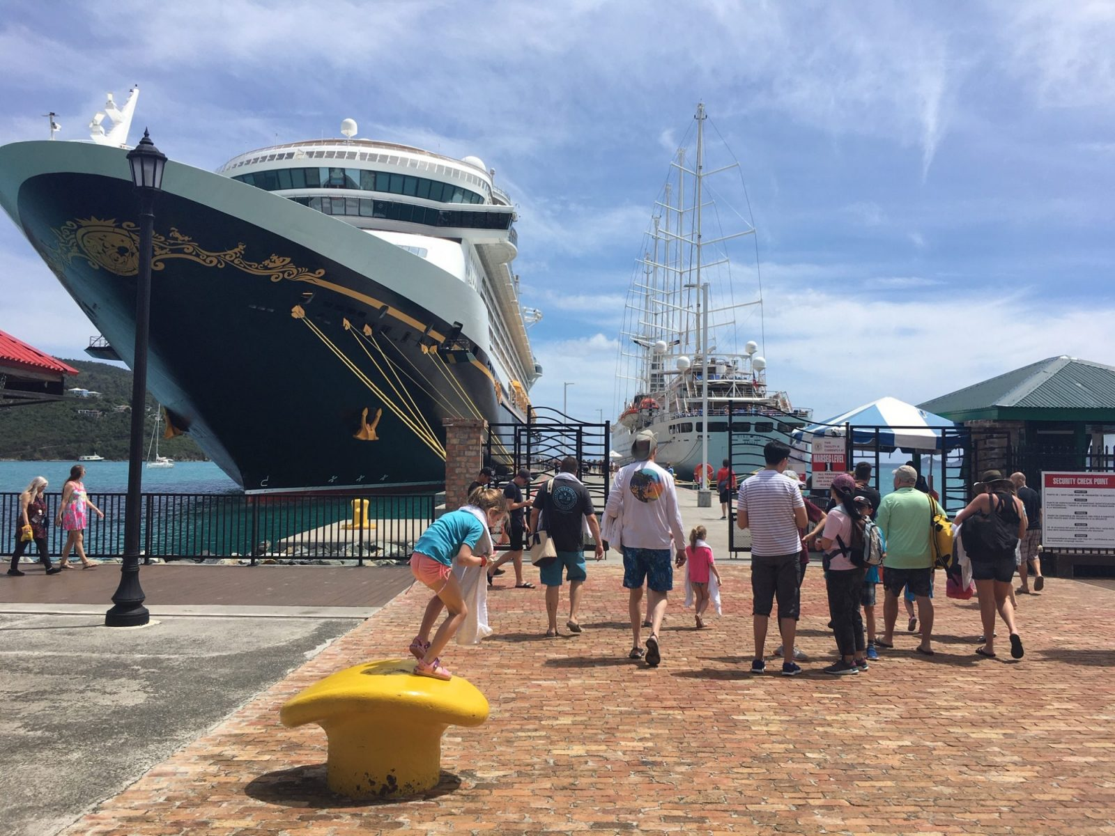 cruise ships on March 10