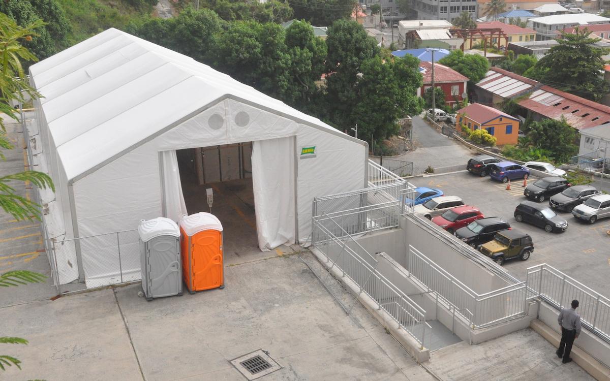 Hospital Covid tent