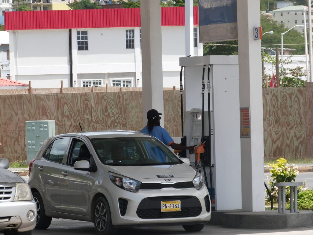 gas station bviec